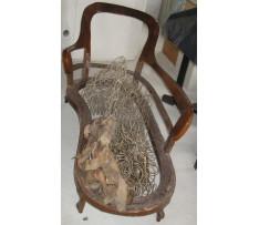 Lenoška (Chaise longue) okolo roku 1840-50