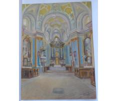 akademický maliar A.Bárta-Interiér chrámu