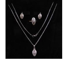 Briliantová zlatá súprava šperkov 0,68 ct Art Deco