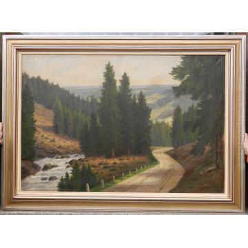 Csordák L.(1864-1937)-Cesta v lese