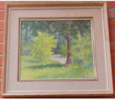 Csordák Lud. (1864-1937)-Letný les