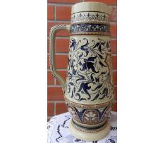 Džbán na pivo Stredná Európa kamenina