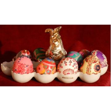 Dóza na velkonočné vajíčka Karlsbad Čechy