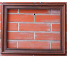 Drevený hnedý rám 32x47 cm 2.pol.20. stor.