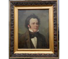 Egorovitch Vlad.Makovski (1846-1920)-Portrét Schubert F.P
