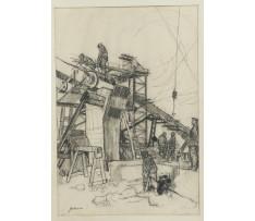 Guderna Lad.(1921-99)-Na stavenisku