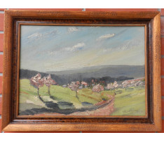 Bertram Hartman (1882-1960)- Letná krajina