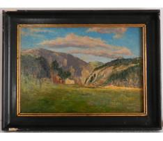 Josef Rektor(1887-1953)-Chaty na roklinou