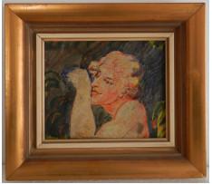 Josef Rektor(1887-1953)-Hlava muža