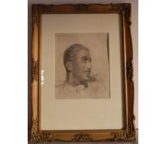 Josef Rektor(1887-1953)-Autoportrét