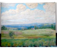 Josef Rektor(1887-1953)-Jarná krajina