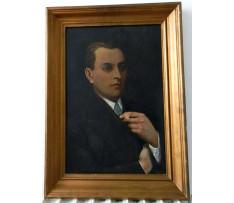 Josef Rektor(1887-1953)-Domnelý autoportrét
