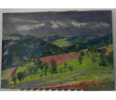 Josef Rektor(1887-1953)-Krajina pred búrkou