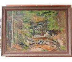 Josef Rektor(1887-1953)-Horský potok