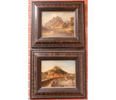 Kameke V.H.W.(1826-99)-Mestá pod hradbami