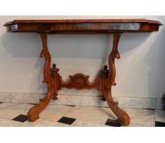 Konzolový stôl 2.pol.19.stor. bukový
