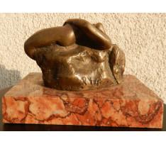 Neidentifikovaný autor-Snívajúca bronz