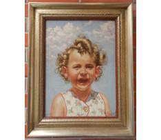 Neidentifikovaný autor-Usmiate dievča
