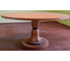 Stôl oválny Biedermaier kon.19 stor.