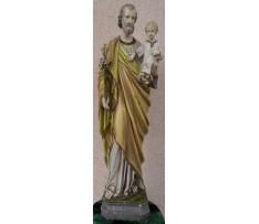 Svätý Jozef s dieťaťom-socha 1.pol.20.st.