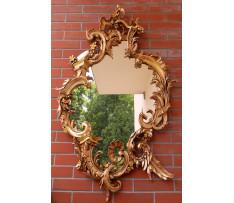 Zrkadlo Rokoko 18. storočie drevo